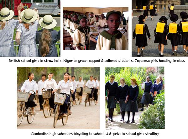 "... study on impacts of school uniforms "" ; "" School Uniforms Should"