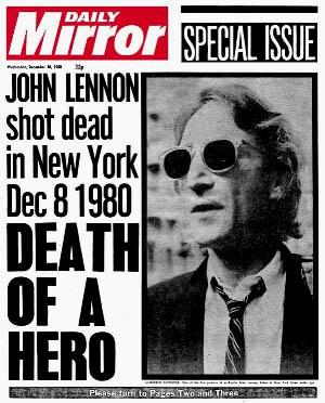 The Beatles Polska: John Lennon został zastrzelony.
