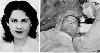 Denise Darvall and Louis Washkansky