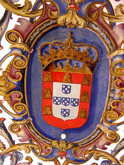 Portugal's royal coat of arms