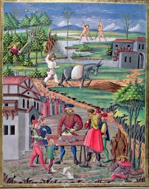 medieval diary entries peasants