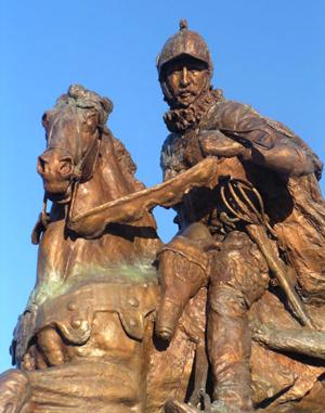Juan Onate statue