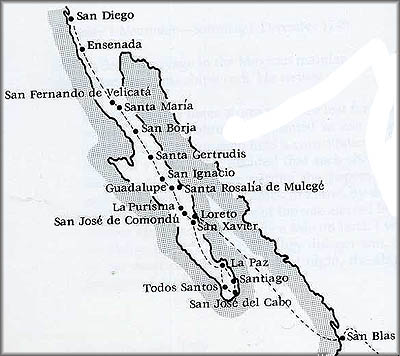 Our Lady Of Bethlehem Begins To Conquer California Part II - California missions map