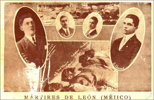 Seis Mártires de León los cristeros