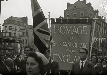 homage to St. Joan of Arc in Rouens, 1956