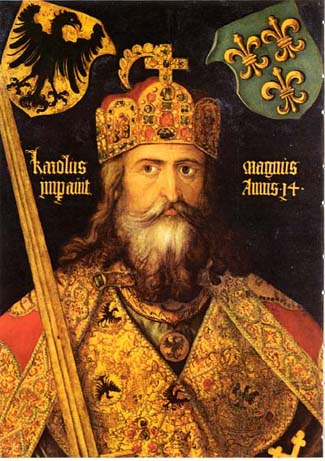 Charlemagne was Gods representative in the civil sphere