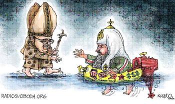 francis lifesaver to schismatics