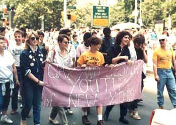 Gay parade in New York