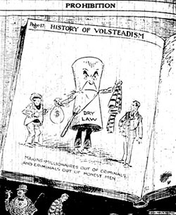 an introduction to the history of volstead act of 1919 This initial campaign started out strong and made a small amount of progress throughout the 1850s but lost strength shortly thereafter the dry movement three months before it was to take effect, the volstead act—otherwise known as the national prohibition act of 1919—was passed it gave power to.