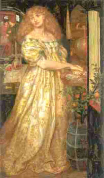 Dante Gabriel Rossetti - Lucrezia Borgia
