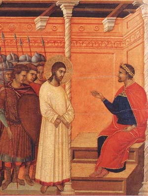 Christ before Pontius Pilate