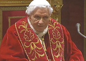 Benedict XVI farewell address February 28