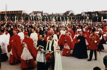 procession in Munich 1960