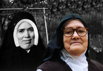 Sister Lucy Lucia young and old