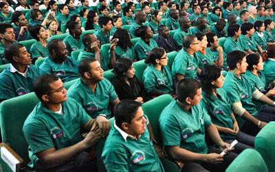Los médicos cubanos en Brasil