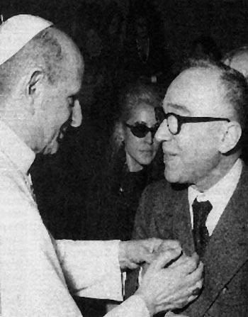 Pablo VI Giorgio La Pira