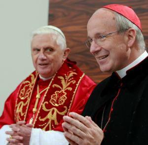 Schönborn y Benedicto XVI