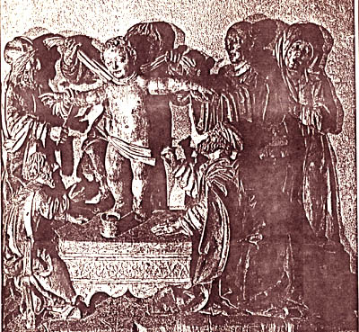 Jews torture St. Simon