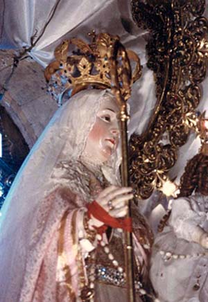 A statue of Our Lady of Good Success