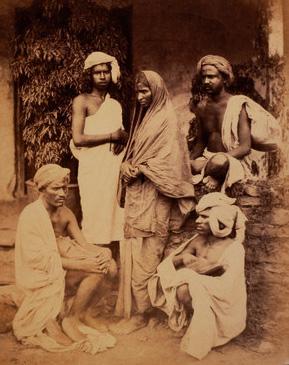 Intocables de la India de castas