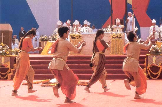 Image result for john paul ii liturgical dances