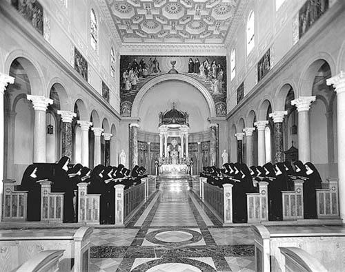 第二バチカン公会議以前のベネディクト会修道女たち