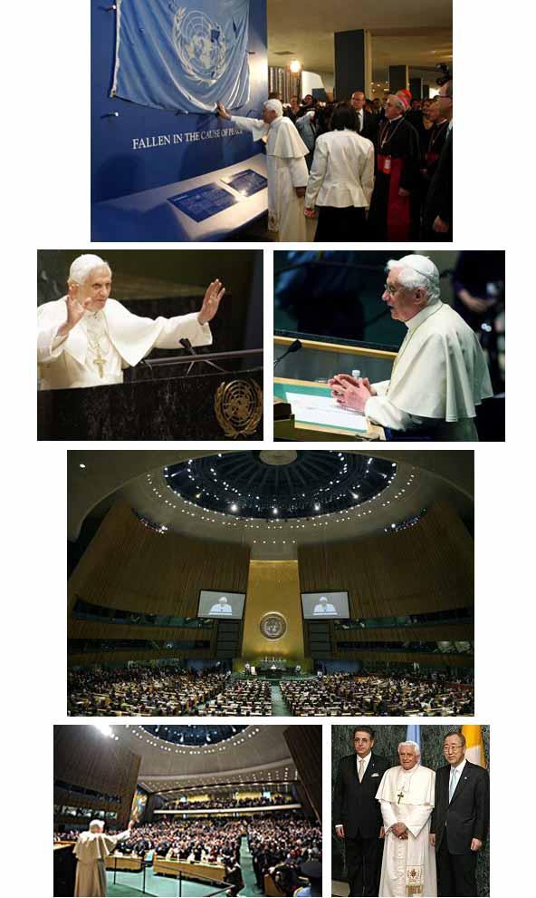 Benedict XVI at the UN