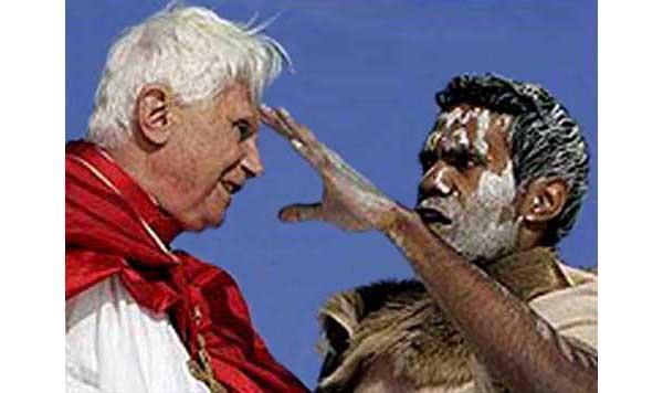 Imagini pentru benedict blessed by shaman