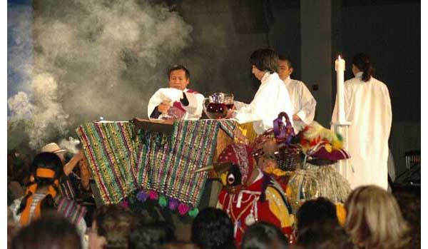 Pagan Rituals Introduced in a Los Angeles Mass