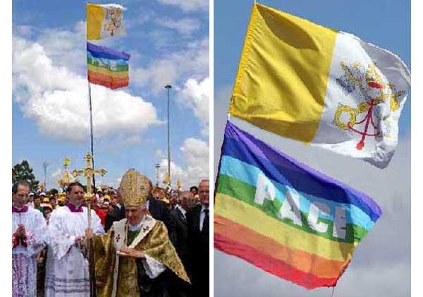 Benedicto XVI Rainbow