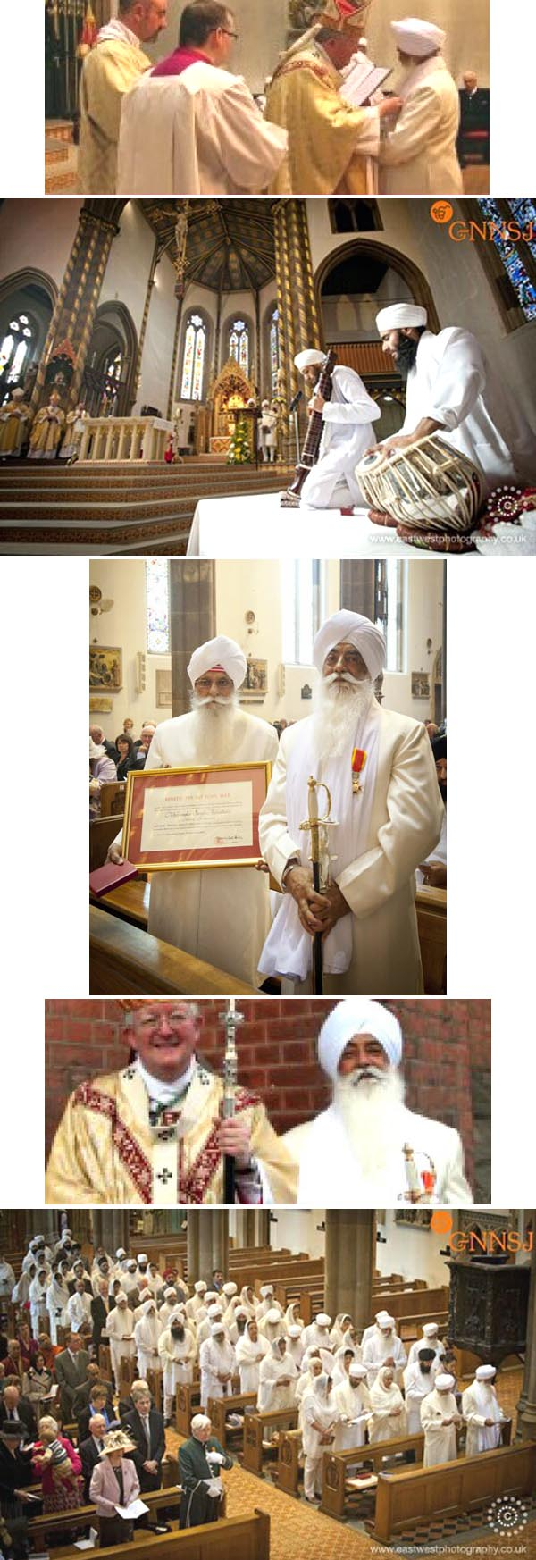 Sikh leader made papal knight 2