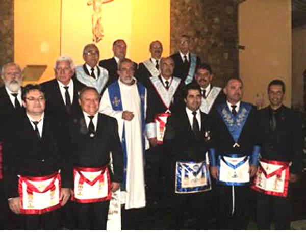 Mass for Day of the Freemason - Gravata Brazil 02