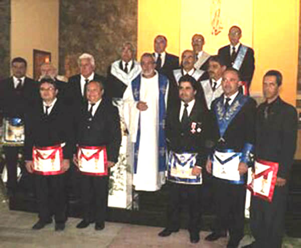 Mass for Day of the Freemason - Gravata Brazil 01