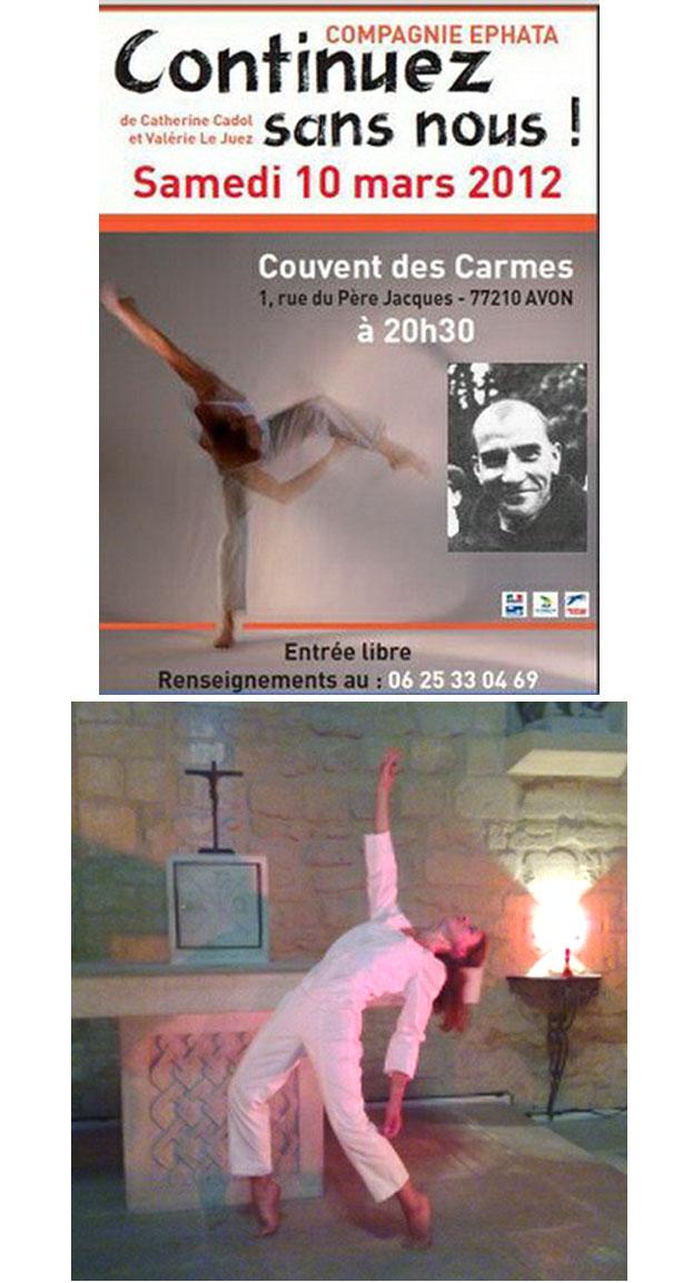 Ephata lleva a cabo en el monasterio carmelita 02
