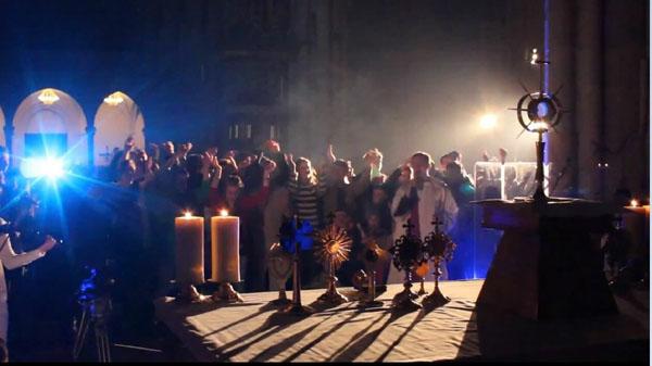 Misa en la Catedral de Hard Lodz 01