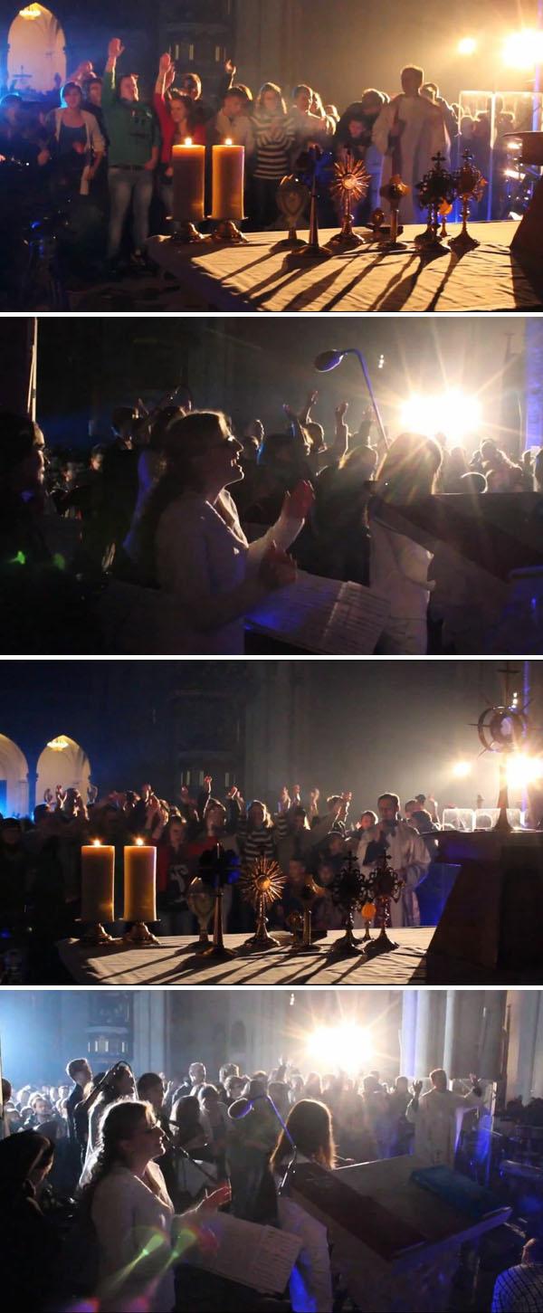 Misa en la Catedral de Hard Lodz 02