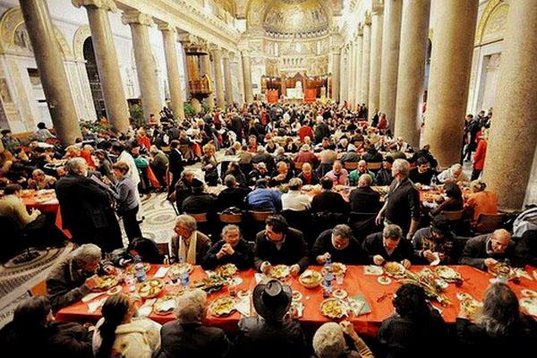 Sant Egidio pranzo 1