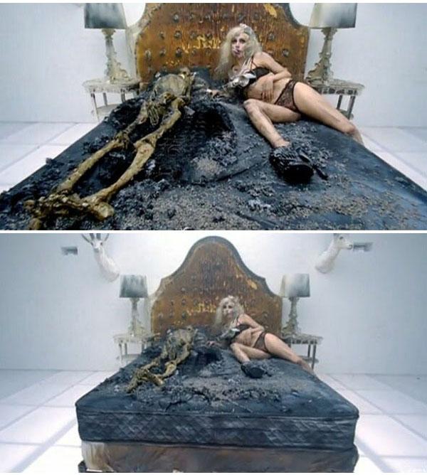 Lady Gaga Bad Romance necrofilia