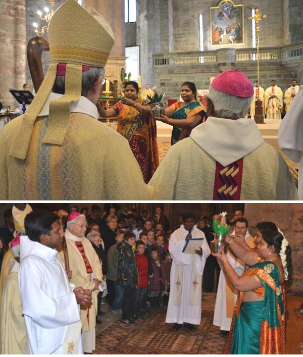 Hindúes bendiciones en Rodez, Francia 03