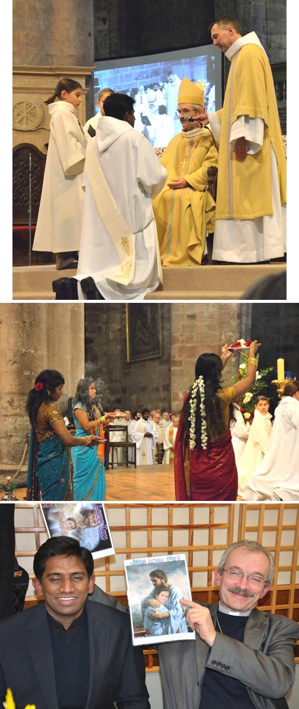 Hindúes bendiciones en Rodez, Francia 04