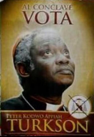 Hacer campaña para el primer Papa