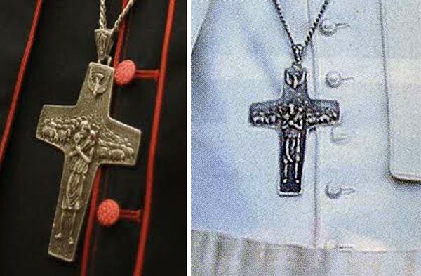 The strange pectoral cross of the bishop of rome mozeypictures Gallery