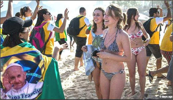 Día Mundial de la Juventud 2013 - Rio 01
