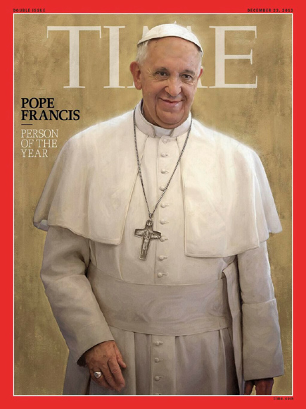 Pope Francis Horned by Times 01