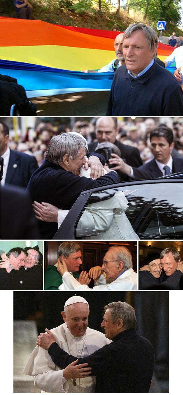 Papa Francis se da la mano con el pro-homo sacerdote 02