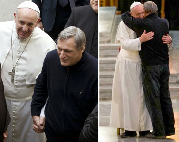 Pope Francis holds hands with pro-homo priest 03