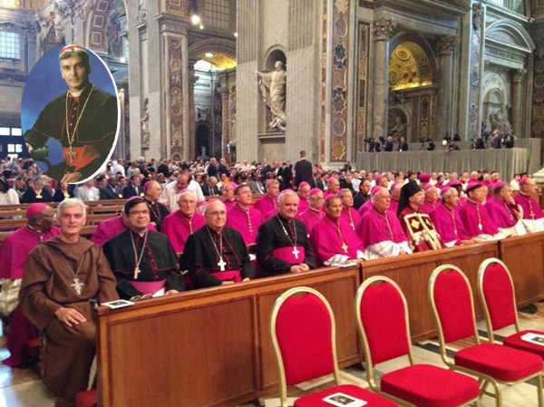 Karl Rodig at the Synod 01