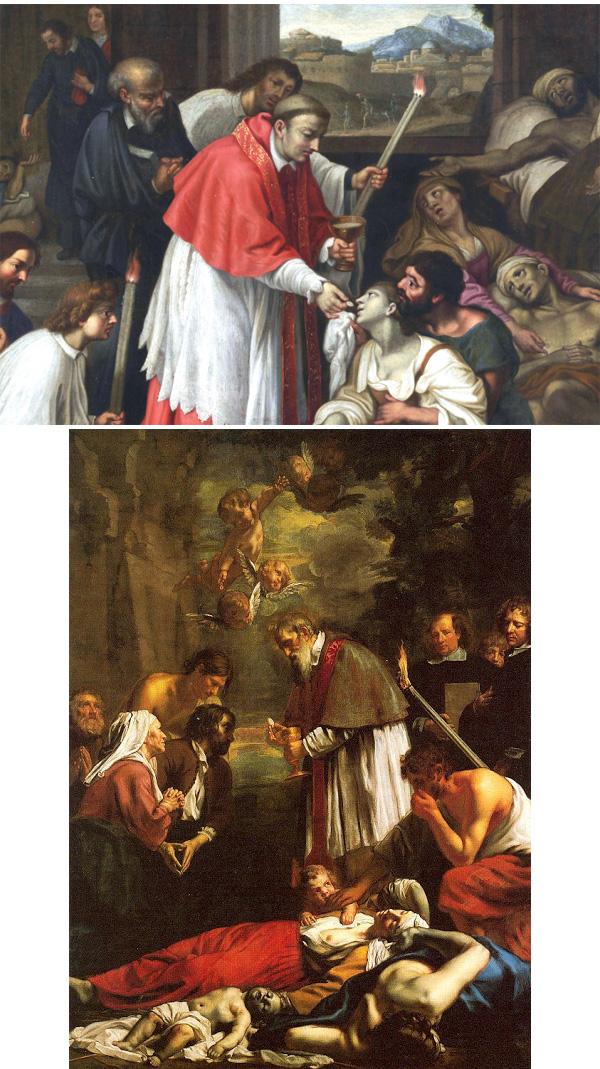 Iglesia católica durante las plagas