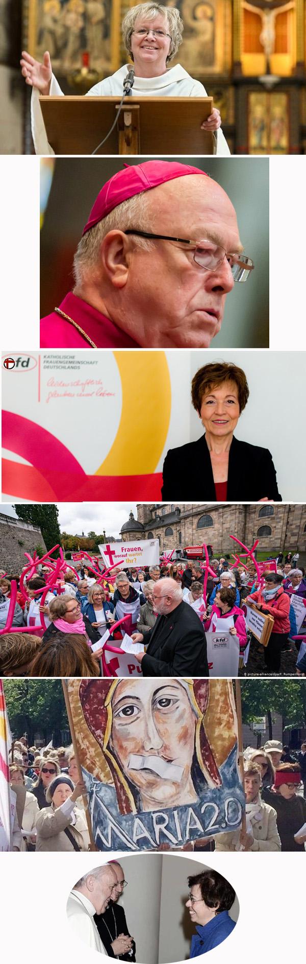 Mujeres en la iglesia en Alemania
