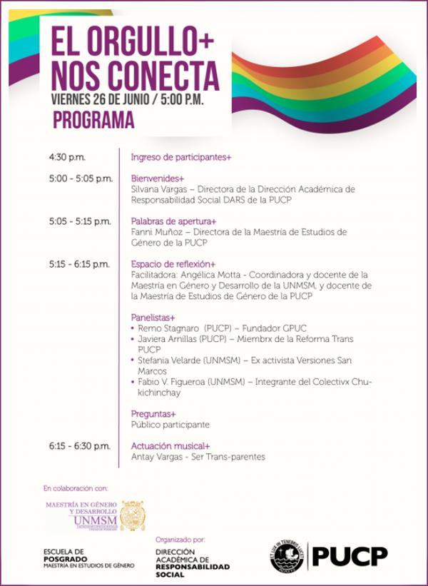 Universidad Pontificia del Perú - Orgullo gay 2